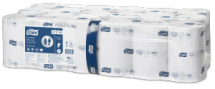 Tork Coreless Mid-size Toilet Roll 112.5m,900 Shts,White,2pl