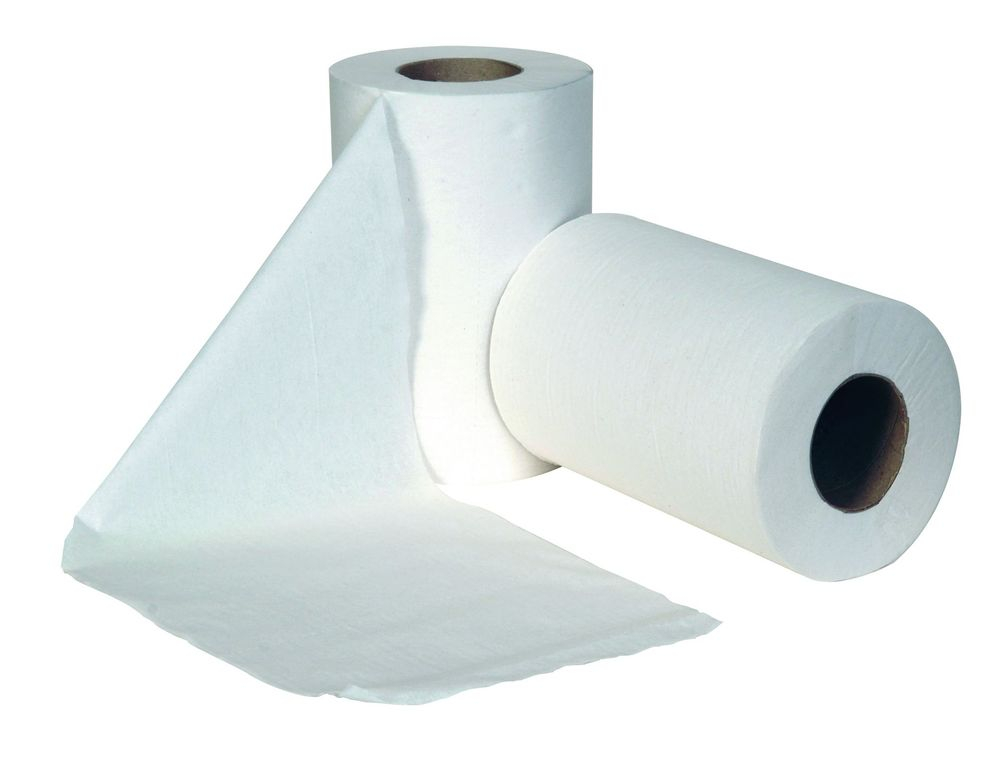 JANGRO MINI CENTREFEED 1ply White 20cm x 120mtr shrink wrap