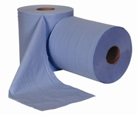 JANGRO CENTREFEED 3ply Blue 195mm x 144m