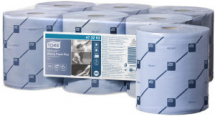 TORK REFLEX WIPING PAPER PLUS 150m BLUE 2 ply