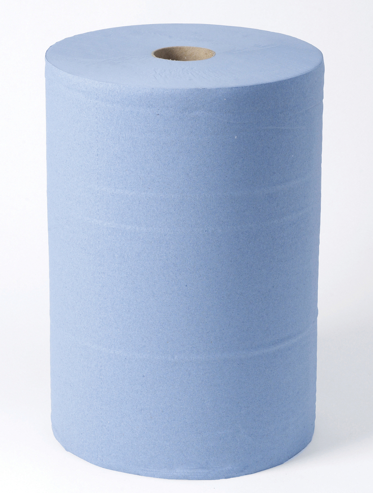 3 PLY MONSTER ROLL, Blue, 360mm x 400m (1081 sheets)