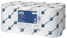 TORK ROLL TOWEL white 1ply for Elect.Dispen.143metre x 24.7cm