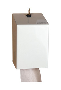 Jangro Bulk Pack Dispenser Small White Metal