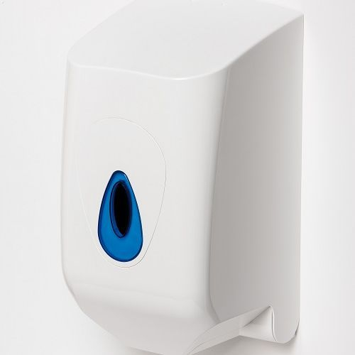 MODULAR CENTREFEED DISP. Small Plastic White/Blue (Mini)