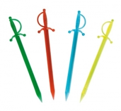 Swordsticks Assorted Colours