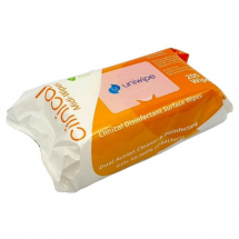 CLINICAL DISINFECTANT SURFACE & HAND WIPES - EN14476 VIRUCIDAL, 200 PER PACK