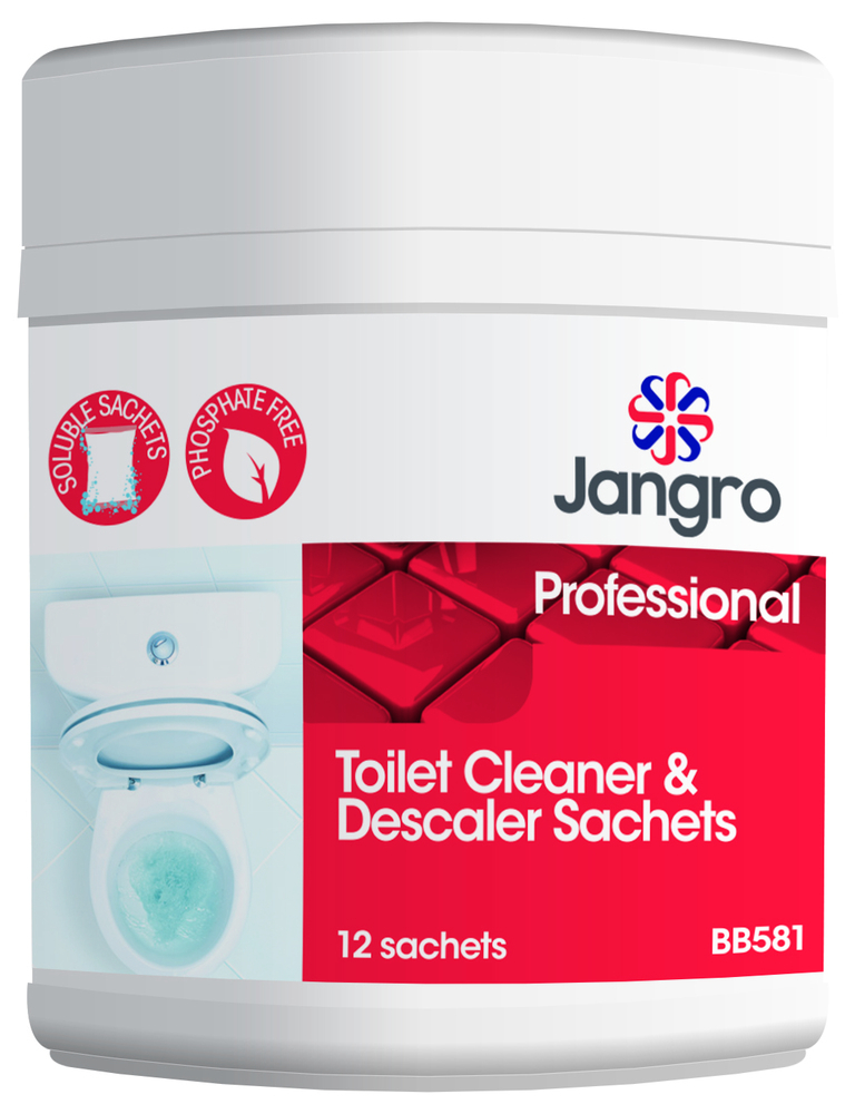 Toilet Cleaner & Descaler Sachets for CE401