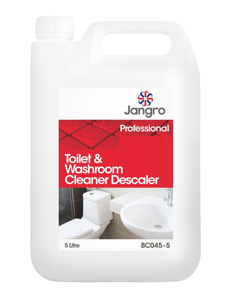 JANGRO TOILET & WASHROOM CLEANER DESCALER