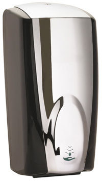 JANGRO AUTO FOAM SOAP DISPENSER Chrome/Black