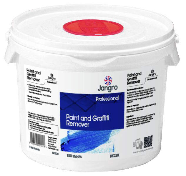 Paint and Graffiti Remover Wipes (Sheet 28x28cm)