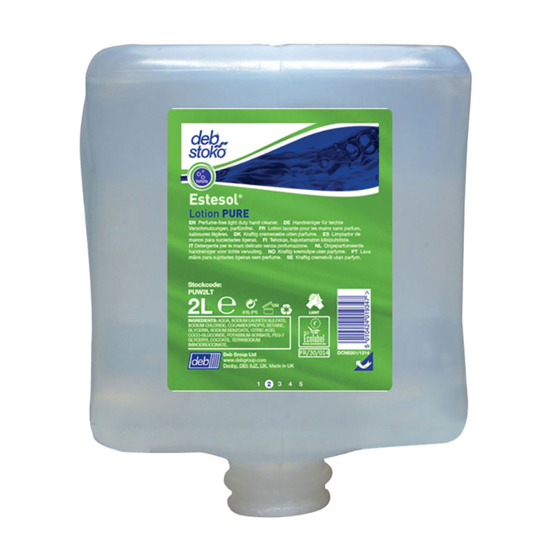 Estersol Lotion PURE 4x4 litre (Deb Pure Wash)