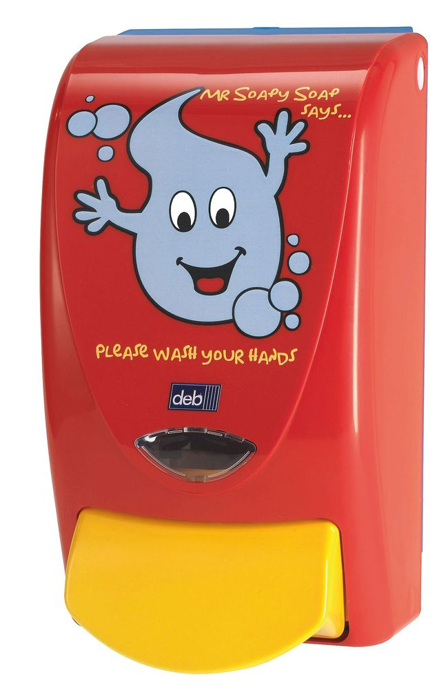 MR SOAPY CHILDRENS' SOAP DISPENS.for Deb 1000 cartridge