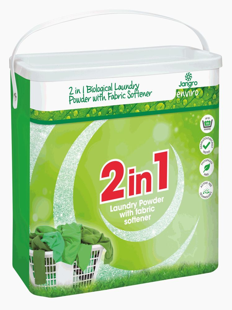 JANGRO ENVIRO 2-IN-1 LAUNDRY POWDER 100 washes