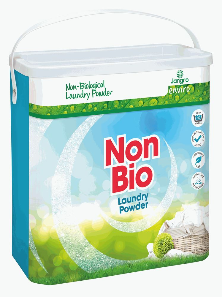 JANGRO ENVIRO NON-BIO LAUNDRY POWDER 100 wash