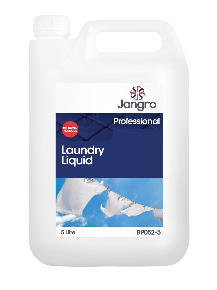 JANGRO LAUNDRY LIQUID 5 litre PROFESSIONAL. NEW FORMULATION
