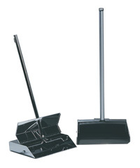Lobby Dustpan All-plastic with Aluminium Handle