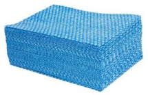 Jangro All Purpose Cloths (Medium) Blue (Sheet 33x38cm)