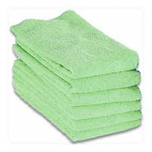 MICROFIBRE CLOTH 40x40cm Green