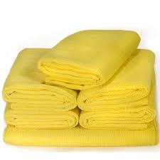 MICROFIBRE CLOTH 40x40cm Yello