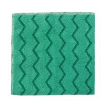 Microfibre High Quality Cloth 40.6cm x 40.6cm Green