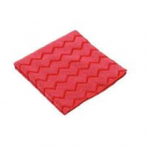 Microfibre High Quality Cloth 40.6cm x 40.6cm Red