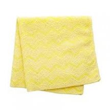 Microfibre High Quality Cloth 40.6cm x 40.6cm Yellow