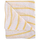Colour Coded Dishcloths 12 x 16 Packs of 10 Yellow