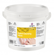 PATIENT CLEANSING WIPES, Tub, 150 Wet Wipes, 20x22cm