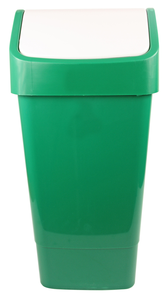 SWING TOP BIN 50 lt Green