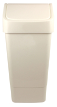 SWING TOP BIN 50 lt White
