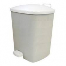 PEDAL BIN Granite 15lt (pale grey with fleck)