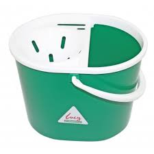Oval Mop Buckets - Green