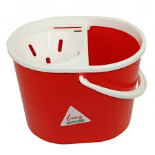 Oval Mop Buckets - Red