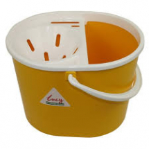 Oval Mop Buckets - Yellow