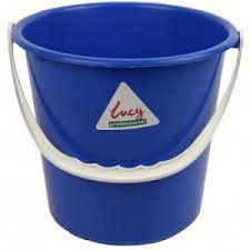 Round Bucket 2 gallon - Blue