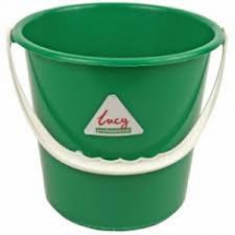 Round Bucket 2 gallon - Green