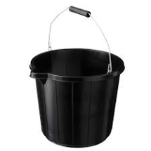 Builders Bucket - Black