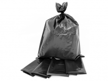 BLACK RUBBLE/AGGREGATE BAGS 22inchx32inch Extra Heavy Duty