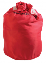 Safeknot Bag 70x101cm Red .