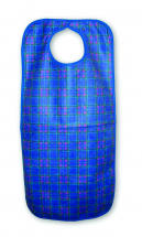 Heavy Duty Clothing Protector Apron SnapClosure 45x90cm Blue