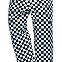 HARROW CHEF TROUSER Chessboard Medium