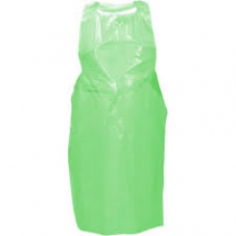 DISPOSABLE APRONS Green 69x107cm, 27x42inch flat pack