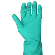 HOUSEHOLD GLOVES Green Large Singles
