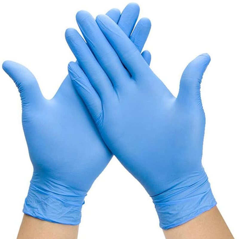 NITRILE POWDER FREE GLOVE, Blue, Medium, Economy