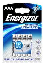 LITHIUM BATTERIES 4xAAA pack