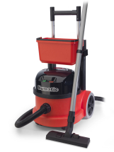 NUMATIC HENRY PVT-220A VACUUM with handle+bucket attachment