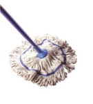 Exel Revolution Mop Head 250 grm - Green (fits handle HA025)