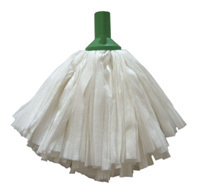 Exel Big White Mop - Green (fits handle HA025)