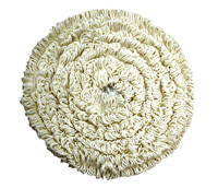 15inch Carpet Cleaning Bonnet (White)