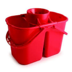 Duo-Hygiene 15 ltr bucket - Duo Red